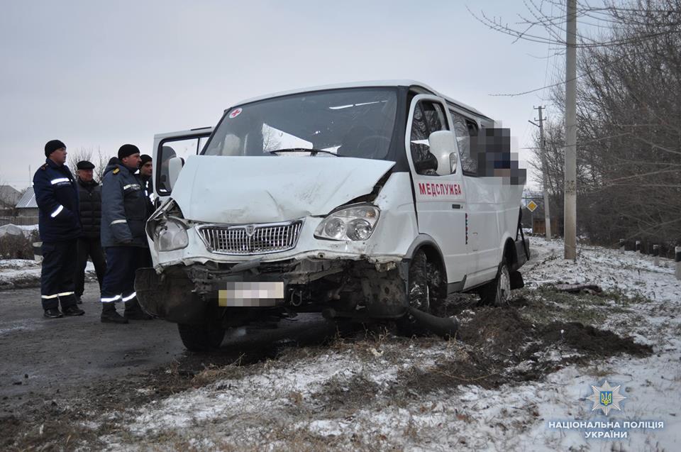 На Луганщине столкнулись 4 авто, погибли люди
