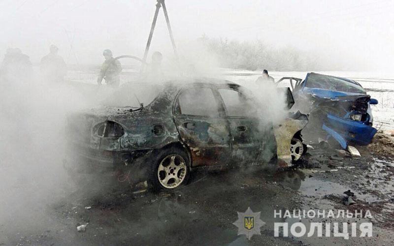 Возросло количество жертв ДТП в Донецкой области