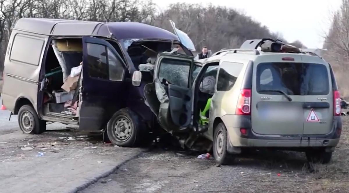 На трассе Донецк-Седово произошло ДТП с четырьмя жертвами