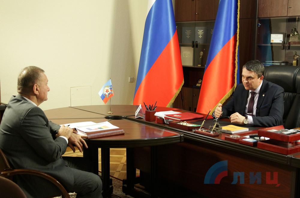 В конце зимы Пасечник раскритиковал качество уборки дорог в «ЛНР»