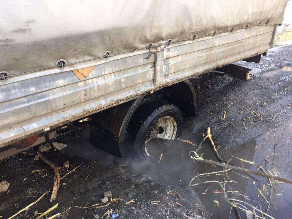 В социальной сети показали состояние дорог в Луганске
