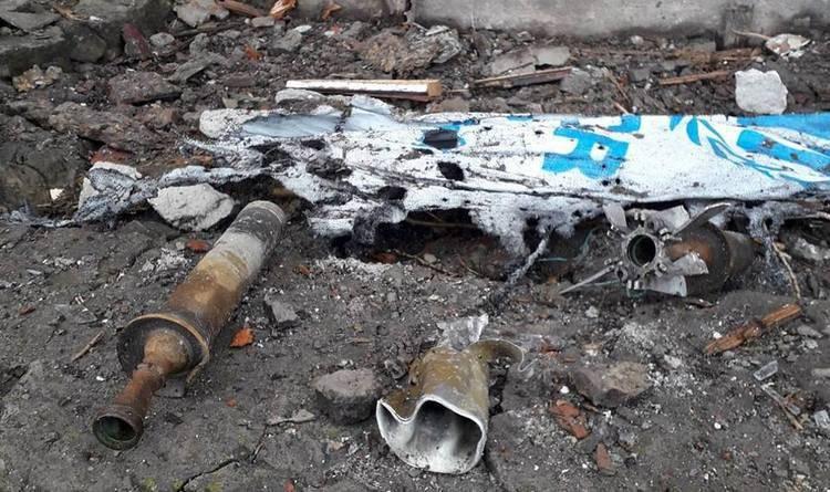 В Донецкой области мирные жители попали под обстрел