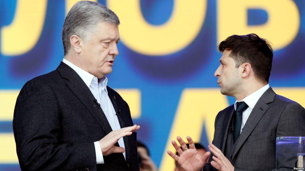 На дебатах Зеленский упомянул «повстанцев ЛДНР»