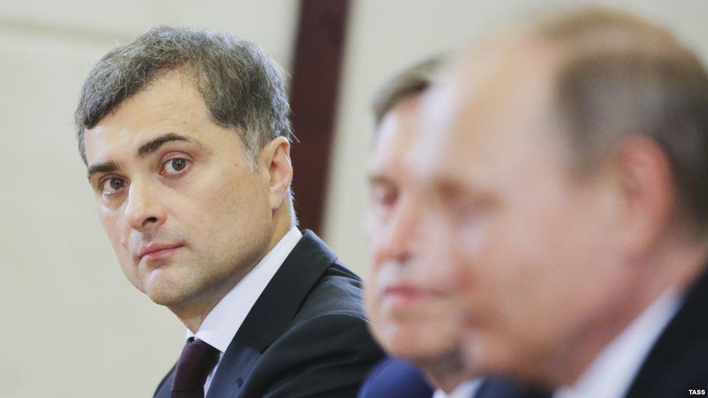 Сурков считает, что РФ может строить отношения с Украиной лишь через «принуждение к братству»