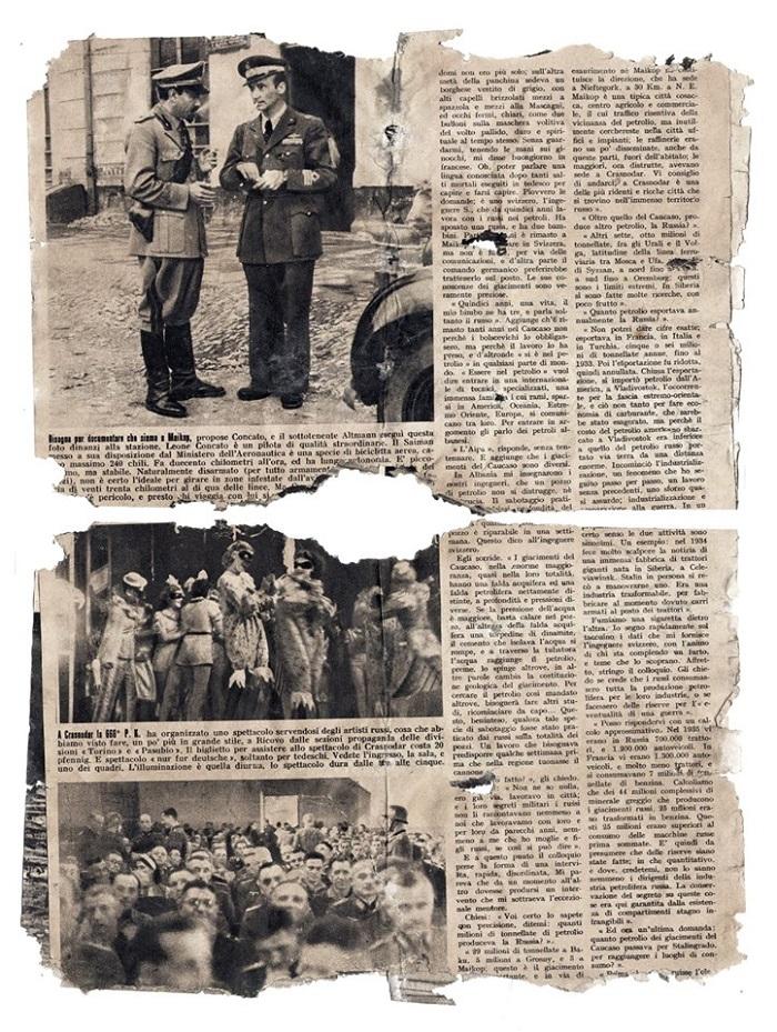 В Старобельске нашли итальянскую газету времен Второй мировой войны