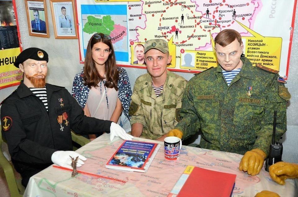 В «ДНР» сделали восковые фигуры «Гиви», «Моторолы» и Захарченко (Обновлено)