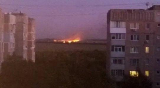 В Луганске горел Литейно-механический завод