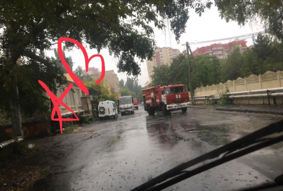 В Донецке горел роддом