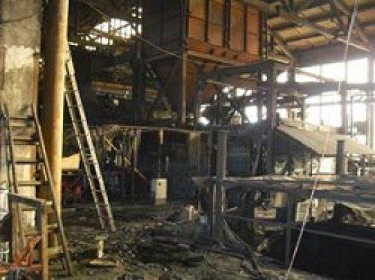 В «МЧС ЛНР» прокомментировали пожар на литейно-механическом заводе