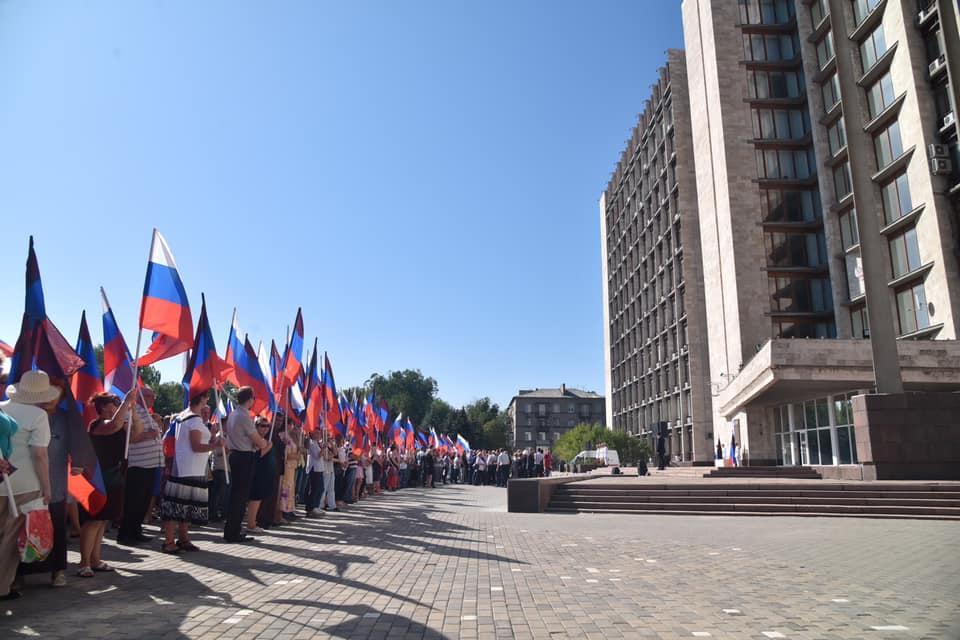 В Донецке теперь есть площадь Захарченко