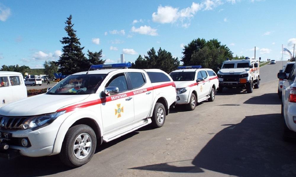 В Станице Луганской началось разминирование местности вблизи моста