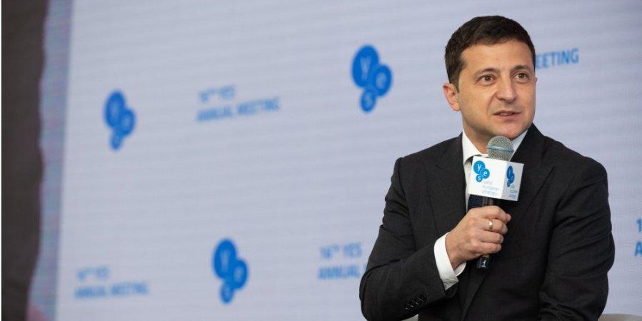 Зеленский предложил поставить миротворцев на границу с Россией
