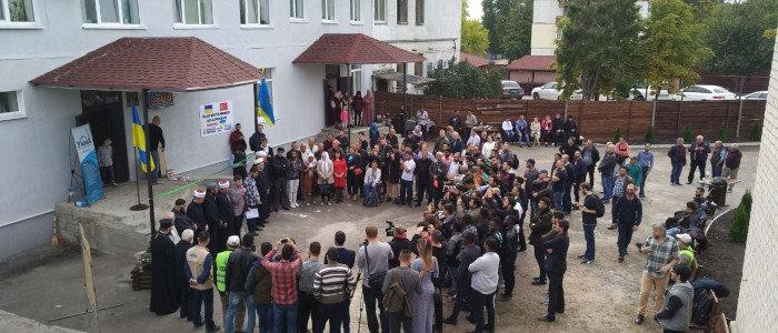 В Северодонецке открыли мечеть