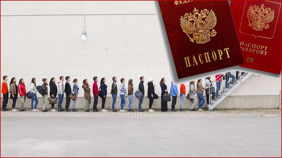 В «ЛНР» запустили электронную очередь на получение паспортов группировки и РФ