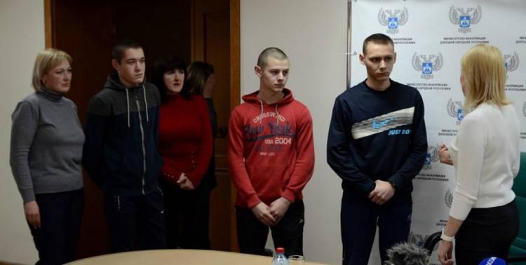 В «ДНР» отпустили подростков, которых раньше объявили «диверсантами»