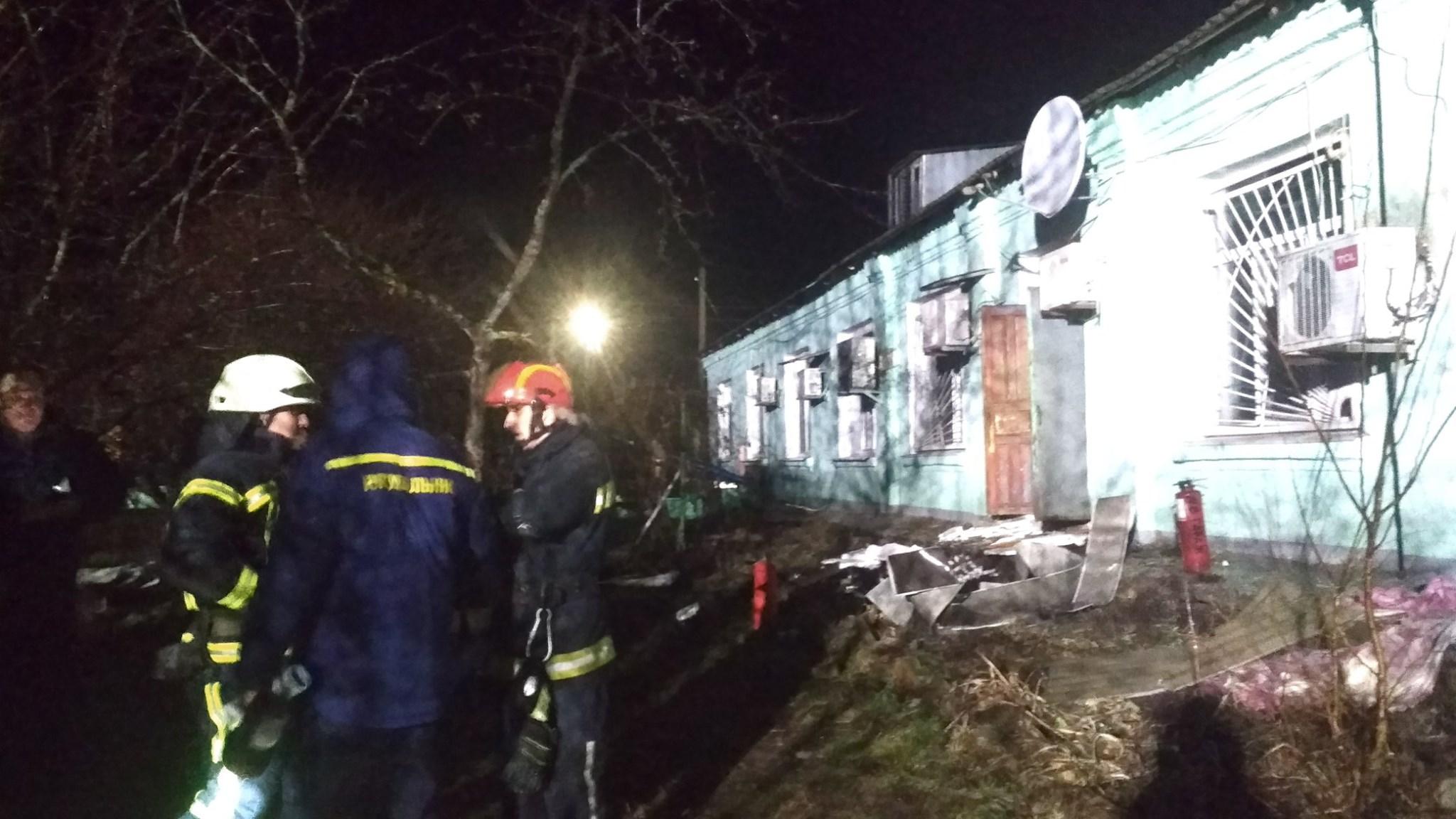 Полиция назвала причину пожара в Старобельском психоневрологическом интернате