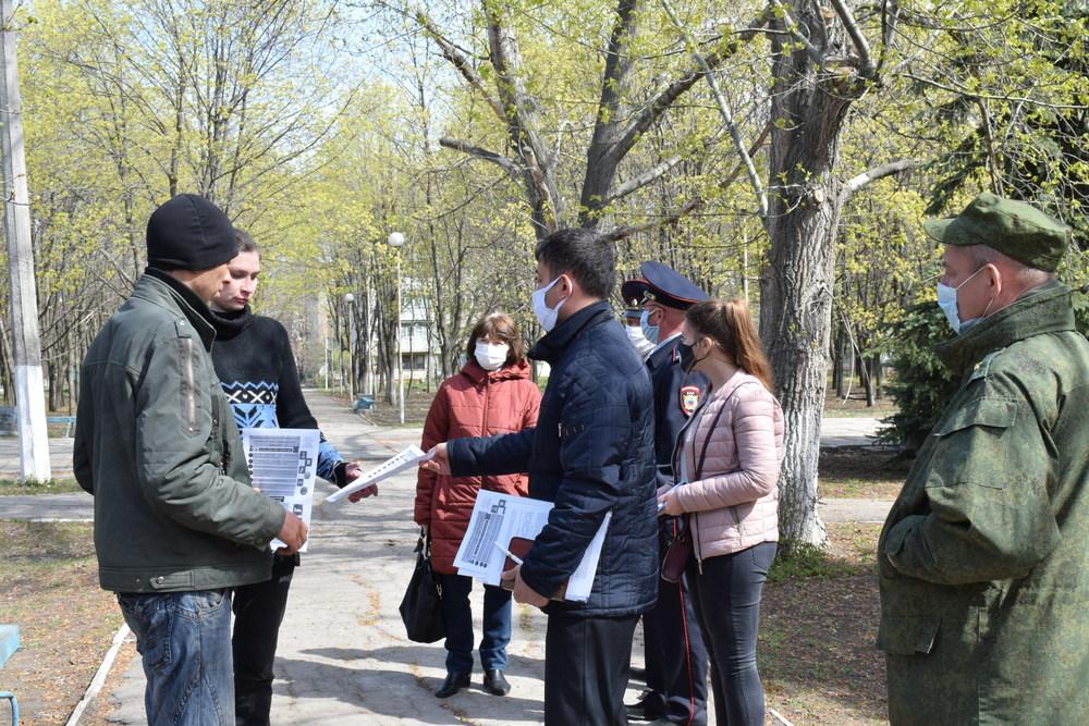 В Первомайске казачьи патрули ищут нарушителей карантина