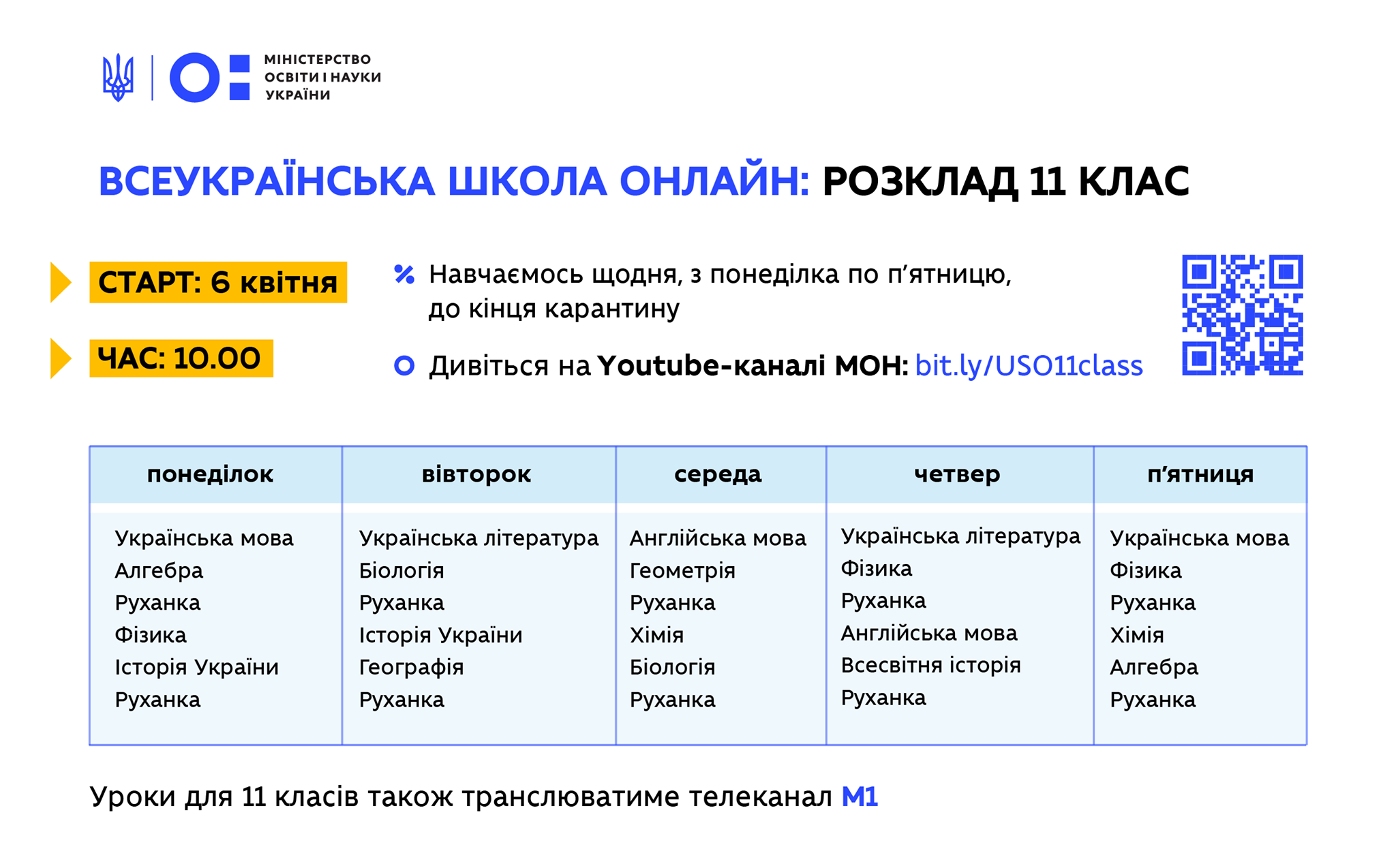 На карантине дети из ОРДЛО смогут смотреть по телевизору видеоуроки от украинских учителей