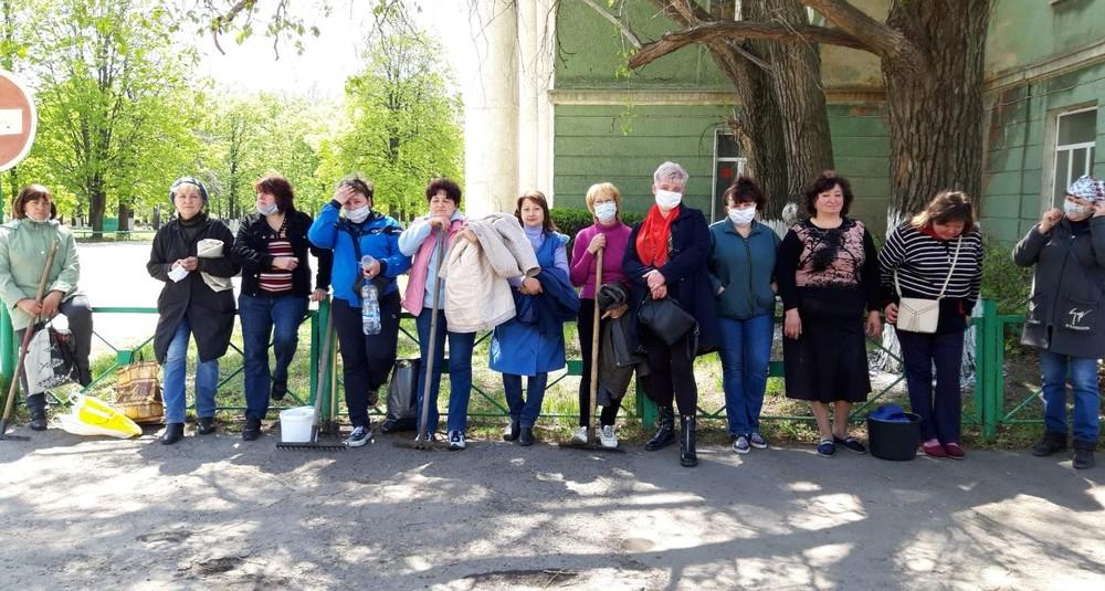 «ЛНР» провела субботники, несмотря на распоряжение самоизолироваться