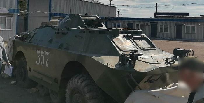 В Лисичанске нашли БРДМ, который боевики хотели поставить как памятник