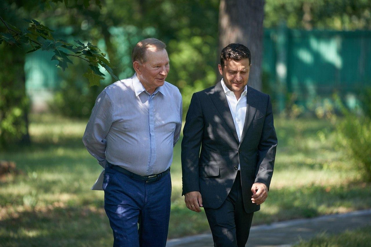 Кучма больше не будет принимать участие в переговорах ТКГ