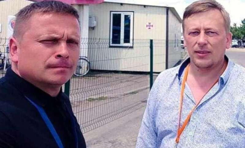 Задержанных в Беларуси Реуцкого и Васильева отпустили