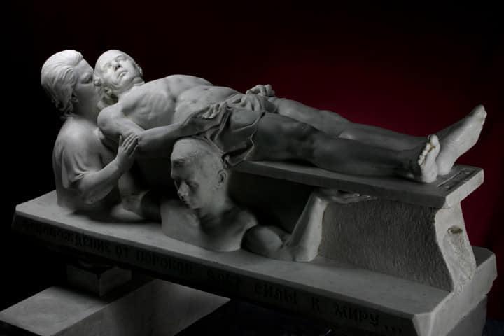 Умер луганский скульптор Николай Шматько, «король мрамора»