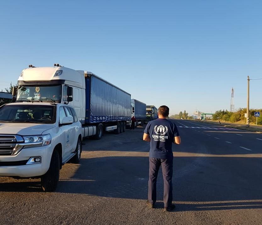 92 тонны гуманитарного груза доставлены в Луганск