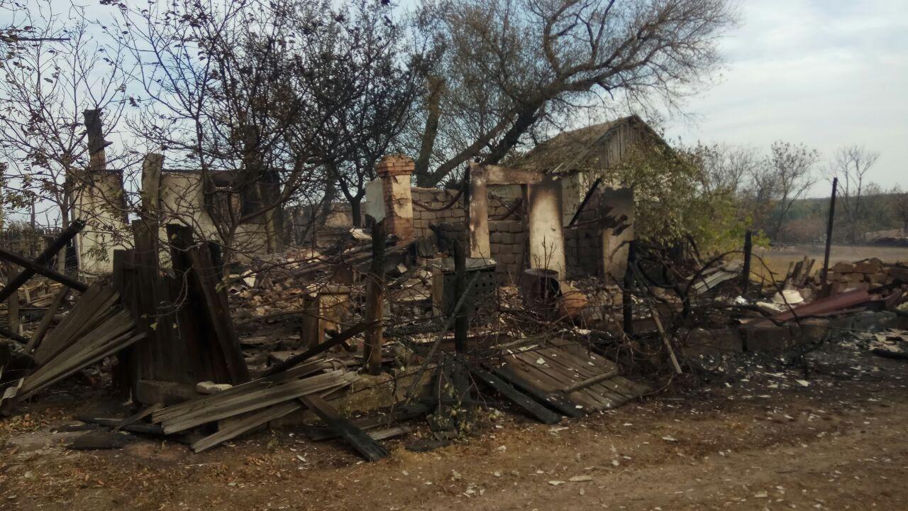 Пожары на Луганщине тушили на бумагах. Огласили подозрение