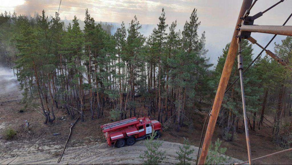 В Луганской области потушили последний очаг масштабного пожара