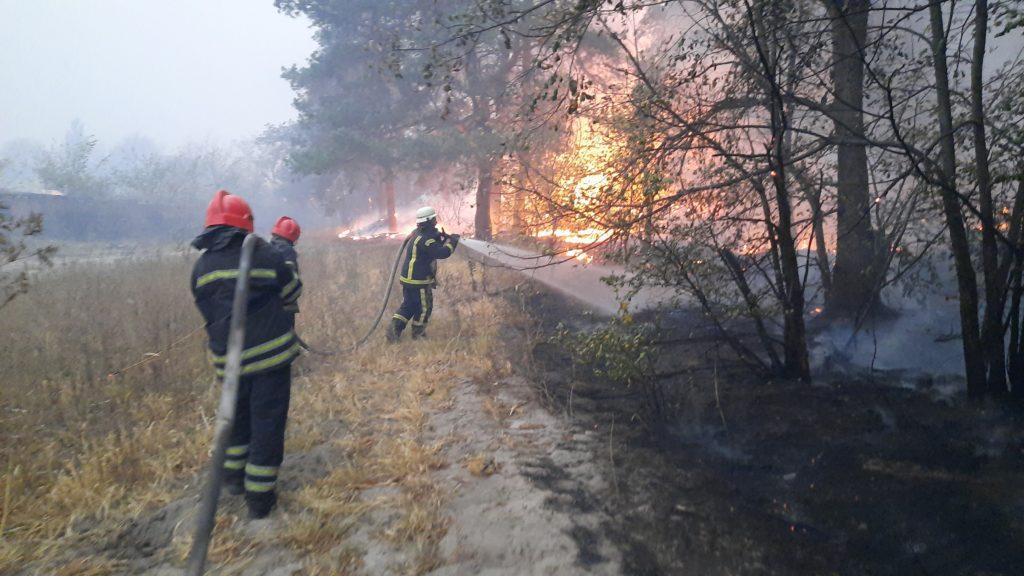 Количество погибших в результате пожара в Луганской области выросло до 9