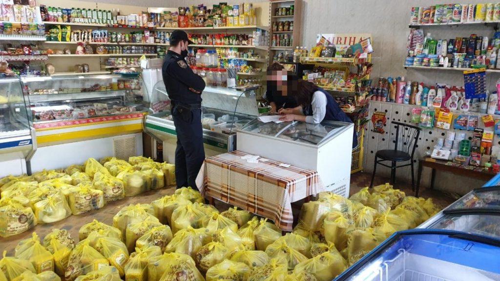В Кременной один из кандидатов подкупал избирателей продуктовыми наборами