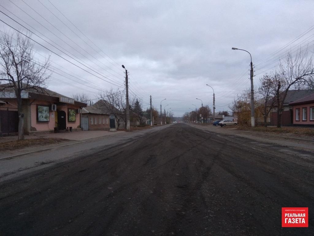 В Луганске показали видео о том, что осталось на месте трамвайных рельсов на улице Артема