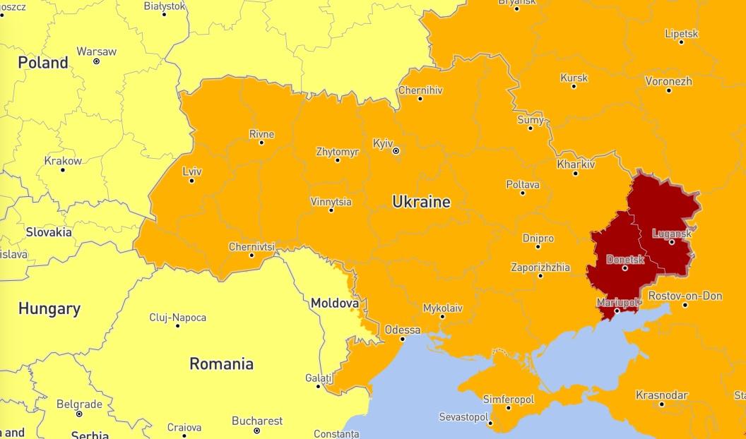 Опаснее Чернобыля. Луганская и Донецкая области попали в мировой список самых опасных мест в мире