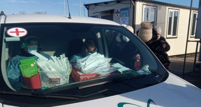 В Луганской области 116 новых случая коронавируса. Умерли четверо
