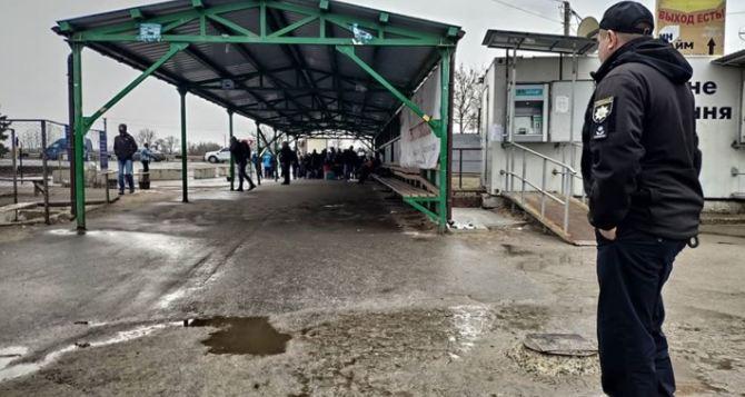 На КПВВ «Станица Луганская» появились обещанные бесплатные тесты на COVID-19. Результат обещают за 15 минут