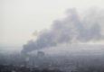 В Луганске горел склад горюче-смазочных материалов