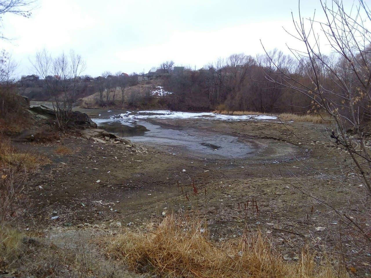 В Луганске предупреждают, что реки продолжат мелеть будущим летом