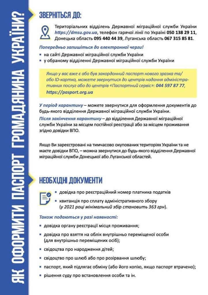 Как переселенцу впервые получить паспорт гражданина Украины