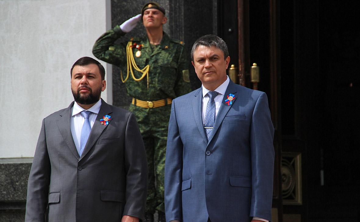 С террористами не разговариваю. Зеленский отказал Пасечнику и Пушилину во встрече