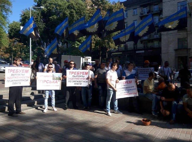 На шахте «Горская» второй день продолжается протест горняков. Одному из шахтеров стало плохо под землей
