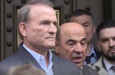 Медведчук сходил на допрос в Офис генпрокурора и там его не арестовали