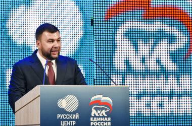 Пушилин заявил о желании вступить в «Единую Россию»