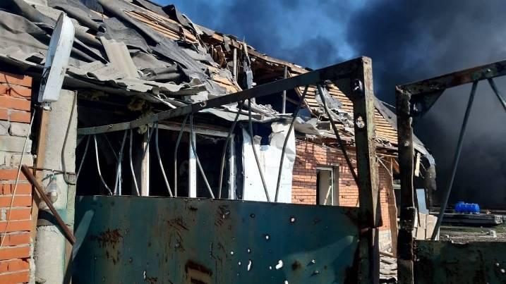 Обострение на Донбассе. Сегодня боевики обстреляли Авдеевку