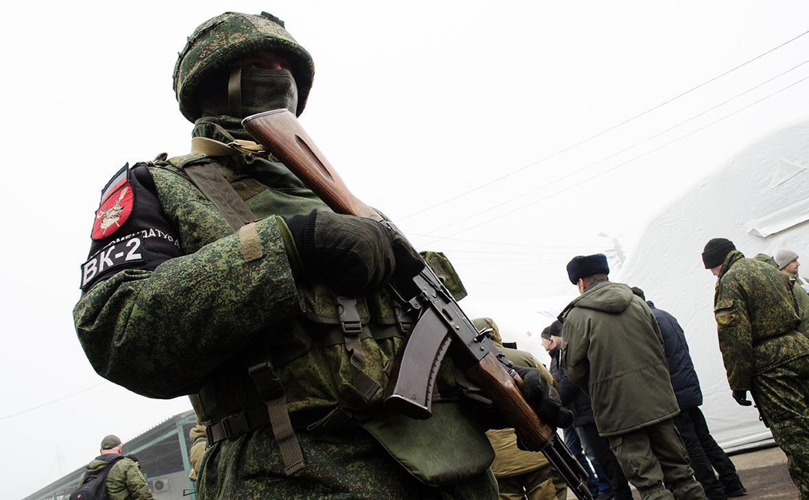 «ДНР» начала призывать мужчин на военную службу